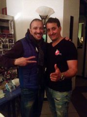 With Gaston Carvallo, invited in Bologna (Italy)